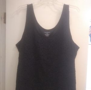 Lane Bryant lace tank top